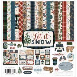 Let It Snow- Carta Bella Collection Kit 12X12