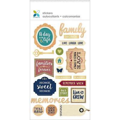 Momenta Mixed Media Sticker- Day in the Life