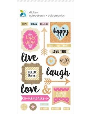 Momenta Mixed Media Sticker- Inspiration