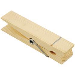 Wood Jumbo Clothespin Natural 5.875 1/Pkg