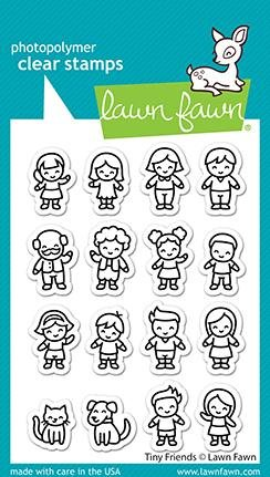 Lawn Fawn Clear Stamps 3X4-Tiny Friends