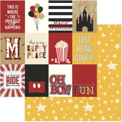 A Day At The Park Double-Sided Cardstock 12X12 3X4 Cards