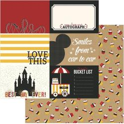 A Day At The Park Double-Sided Cardstock 12X12 4X6 Cards
