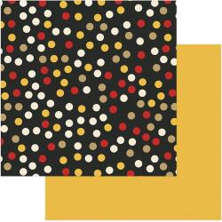 A Day At The Park Double-Sided Cardstock 12X12 Multi Dot/Yellow