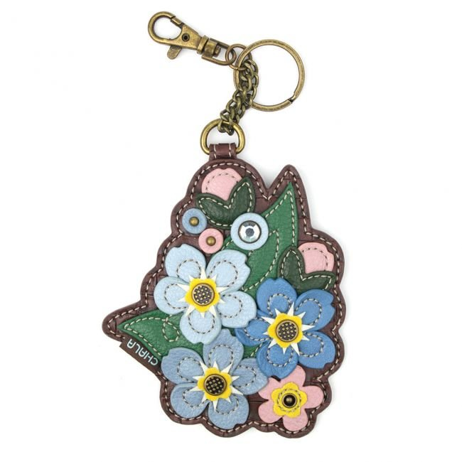 Chala COIN PURSE / KEY FOB - Forget me not