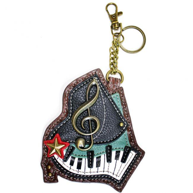 Piano - Chala Coin Purse/ Key Fob