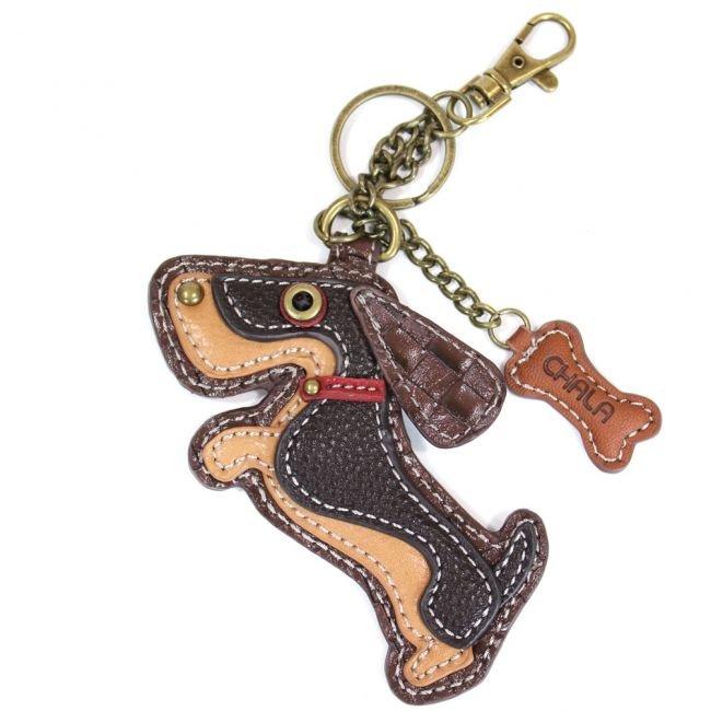Chala Key Chain Weiner Dog