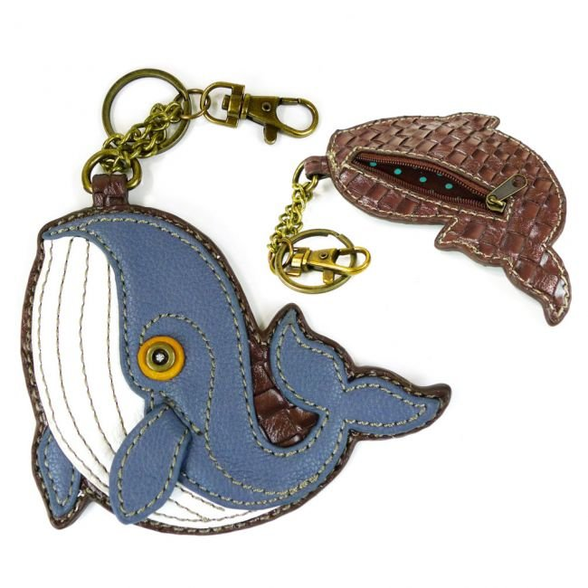 Whale - Chala Coin Purse/ Key Fob