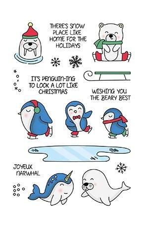Frozen Fun stamp set - LDRS