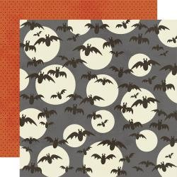 Boo Crew Double-Sided Cardstock 12X12 So Fangtastic