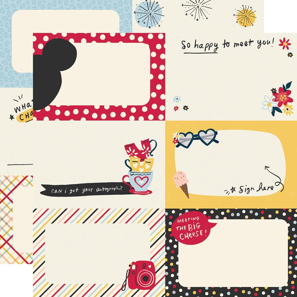 Say Cheese Main Street Double-Sided Cardstock 12X12-Autograph Cards