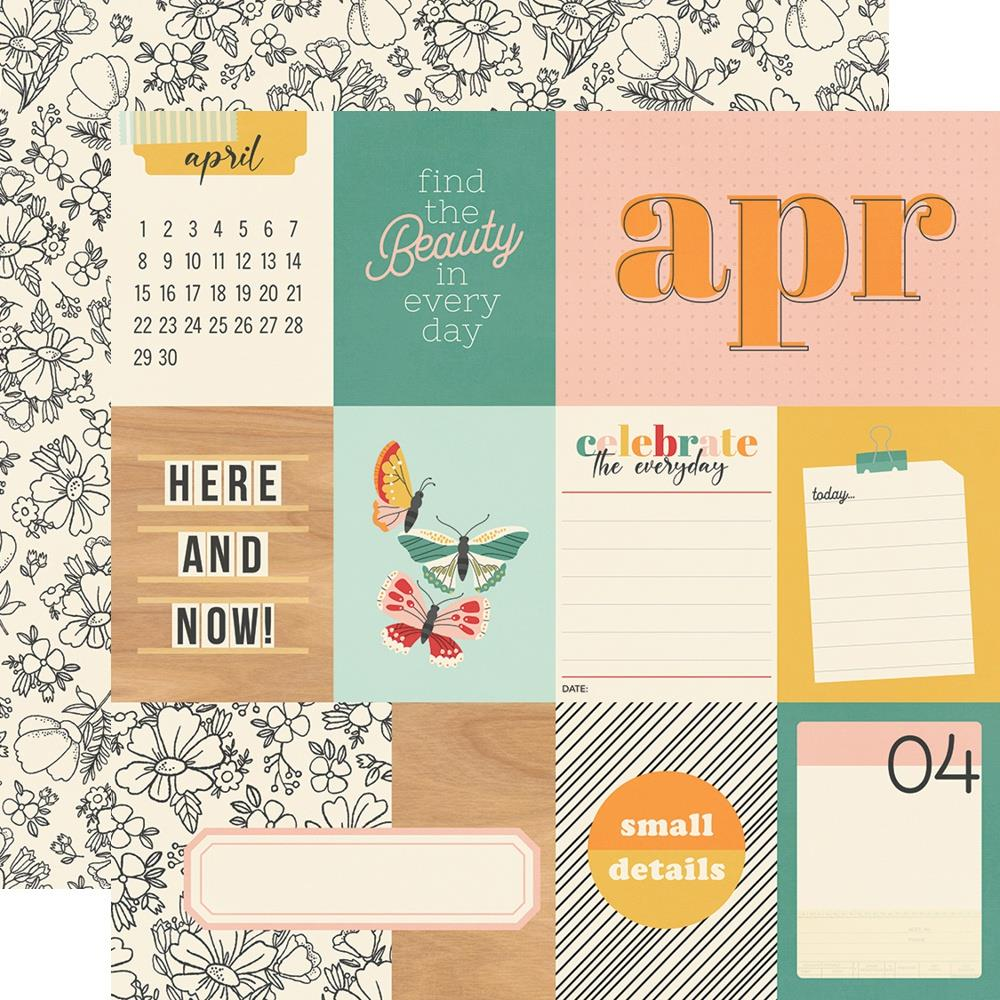 April   - Hello Today Simple Stories
