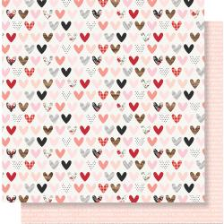 Love Day- Kissing Booth Double-Sided Cardstock 12X12