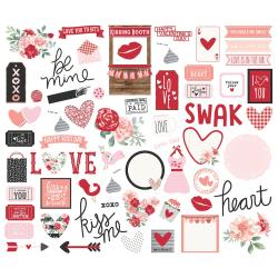 Kissing Booth Bits & Pieces Die-Cuts 66/Pkg