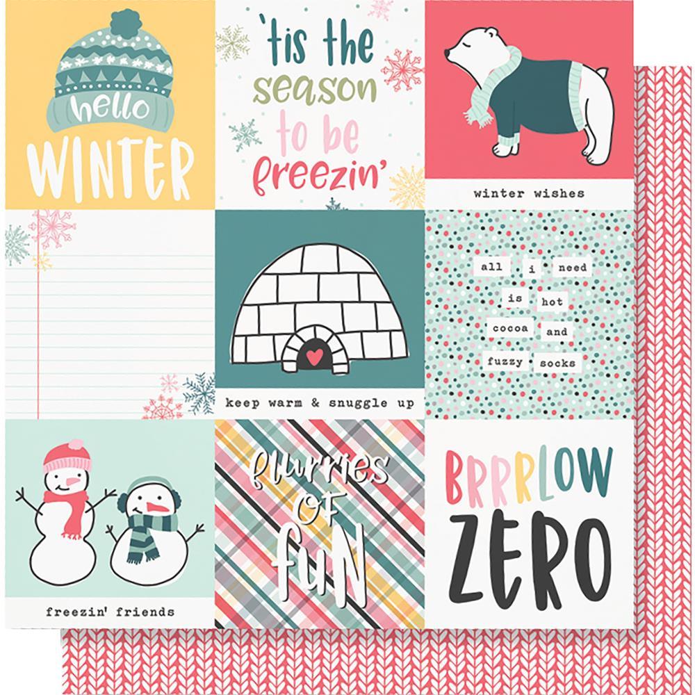 4x4 Elements- Simple Stories Freezin' Season