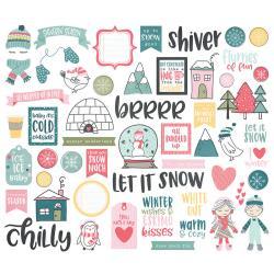 Bits & Pieces- Simple Stories Freezin' Season