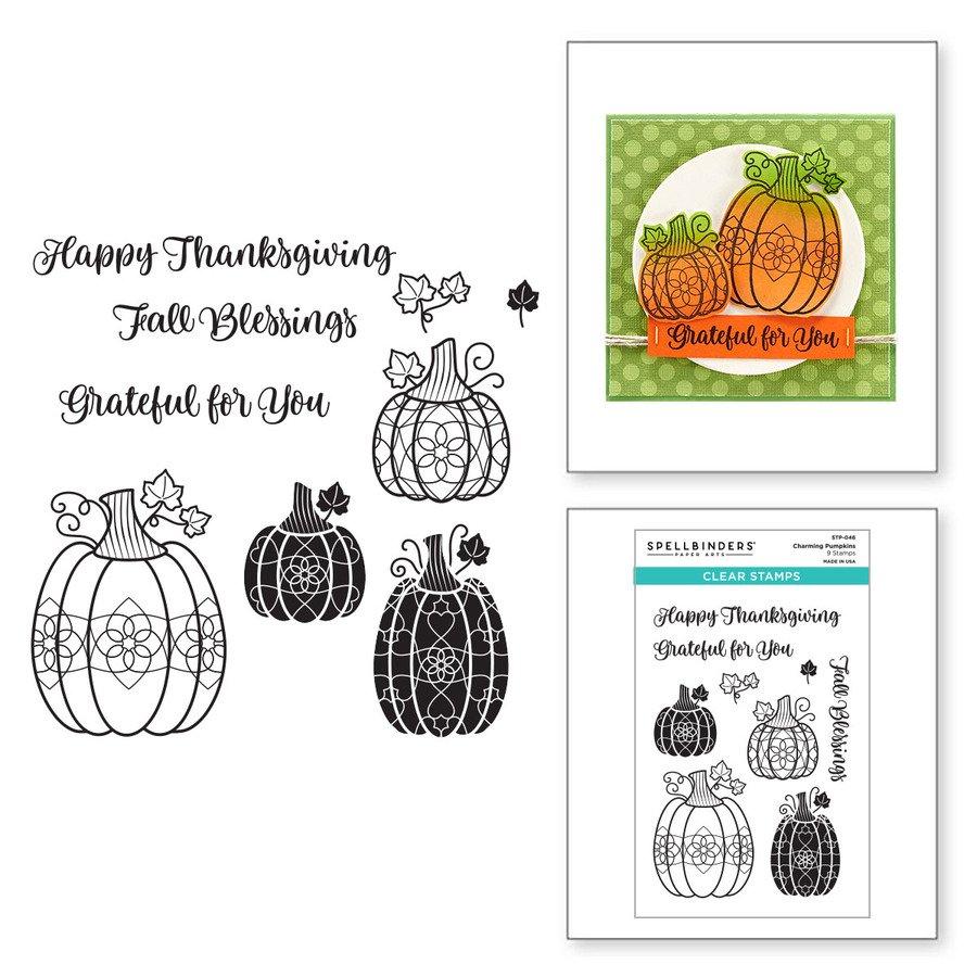 Charming Pumpkins Clear Stamp Set