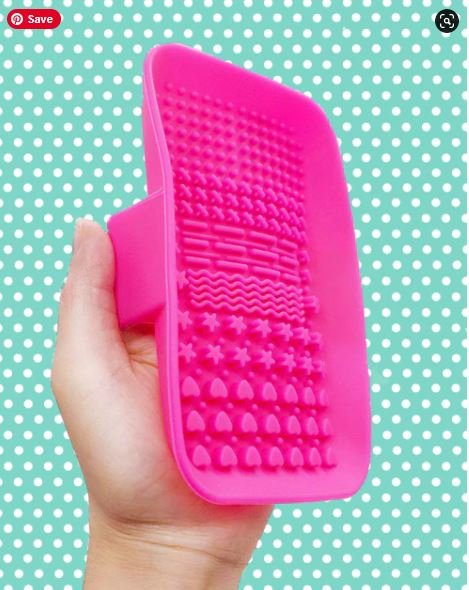 Brush Scrubber- Pink and Main