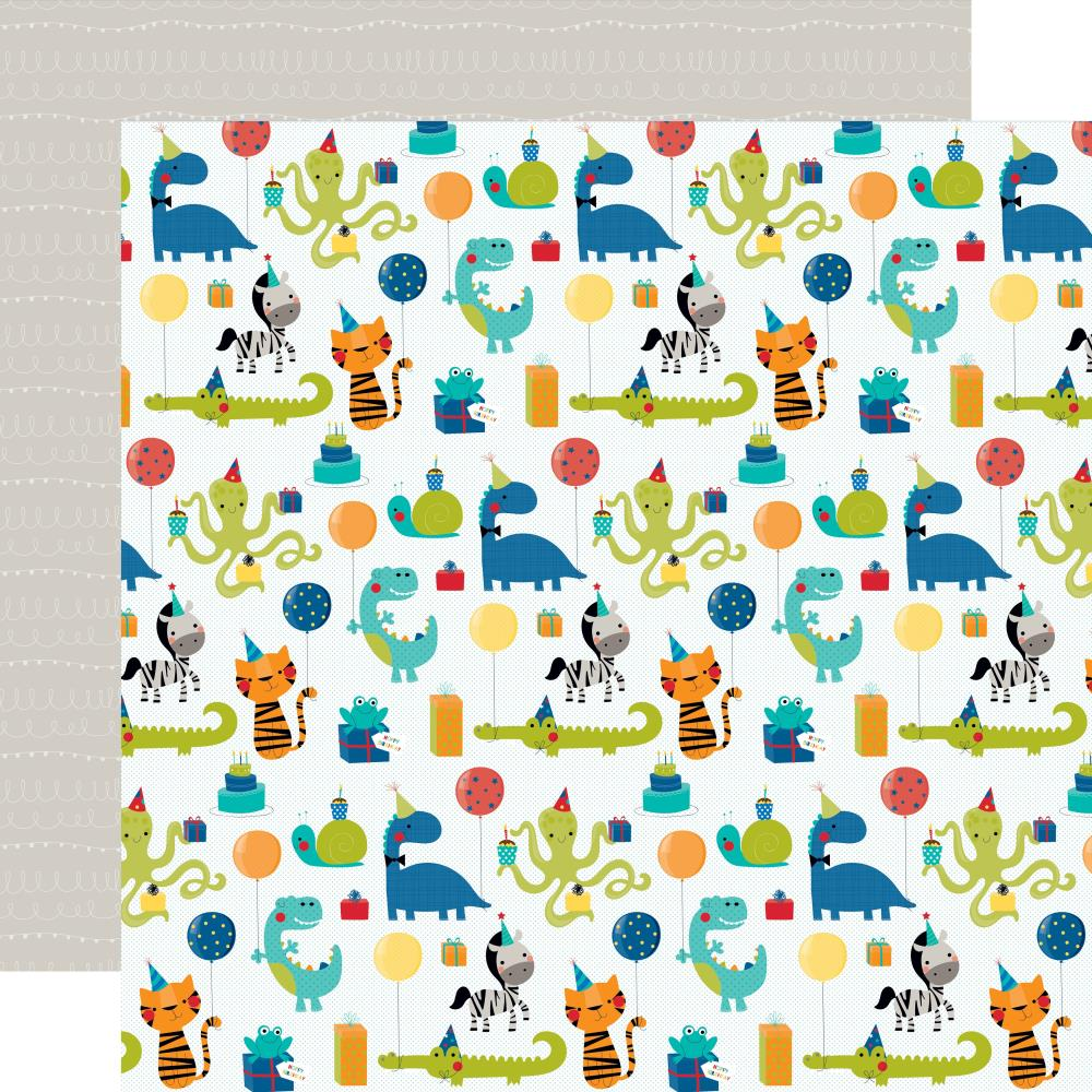 Dinotastic- Wish Big Boy Double-Sided Cardstock 12X12