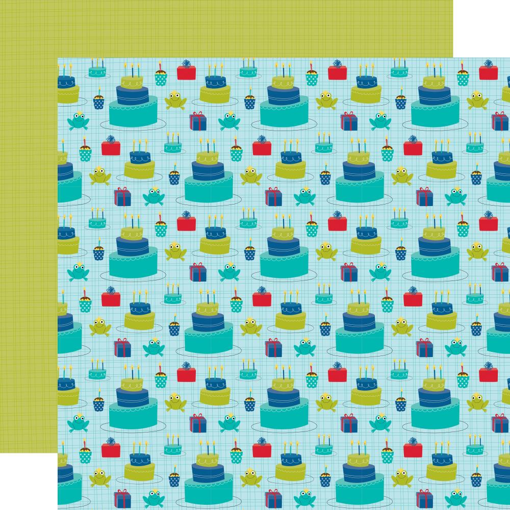 Cake Time- Wish Big Boy Double-Sided Cardstock 12X12