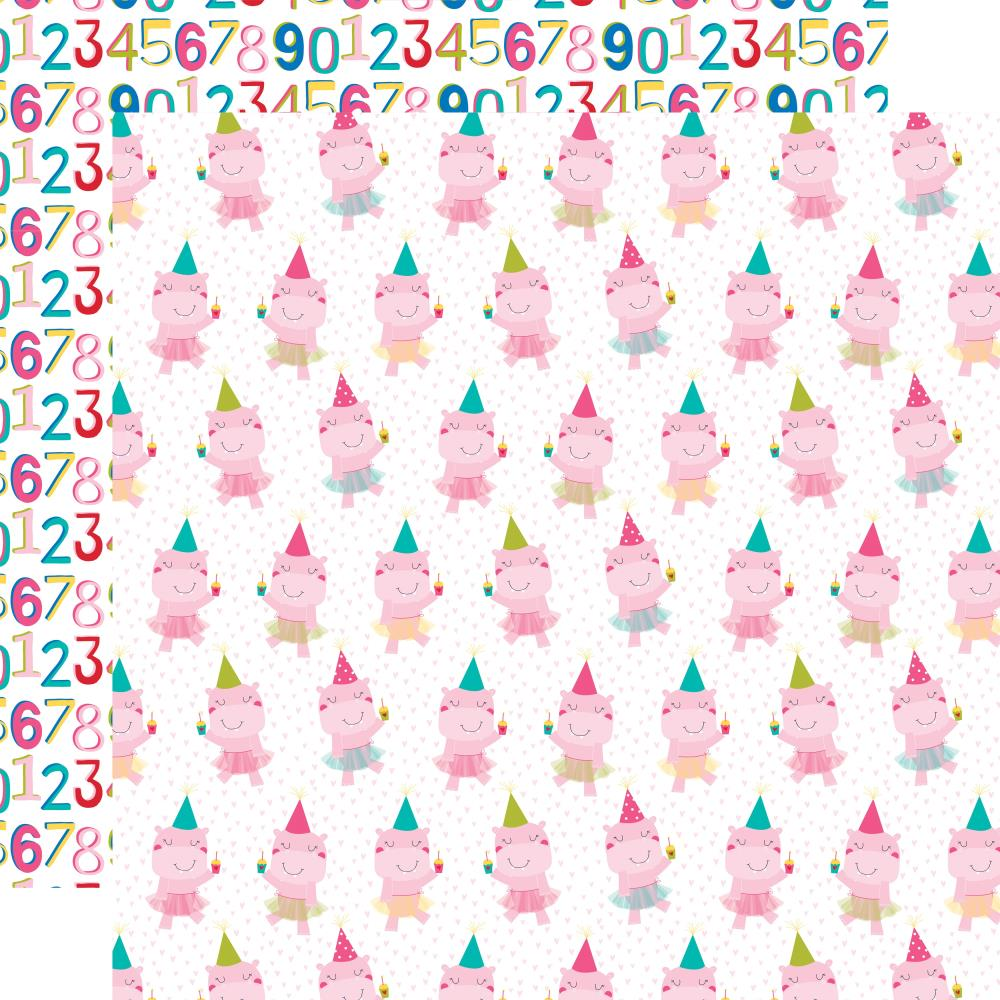 123456789- Wish Big Girl Double-Sided Cardstock 12X12