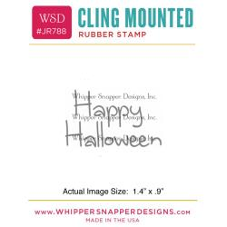 Cling Stamp- Happy Halloween