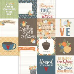 Hello Fall- 4X4 cards