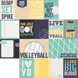 Volleyball- 3X4 & 4X6