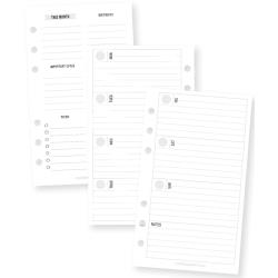 Planner Essentials Double-Sided Personal Inserts Weekly Horizontal