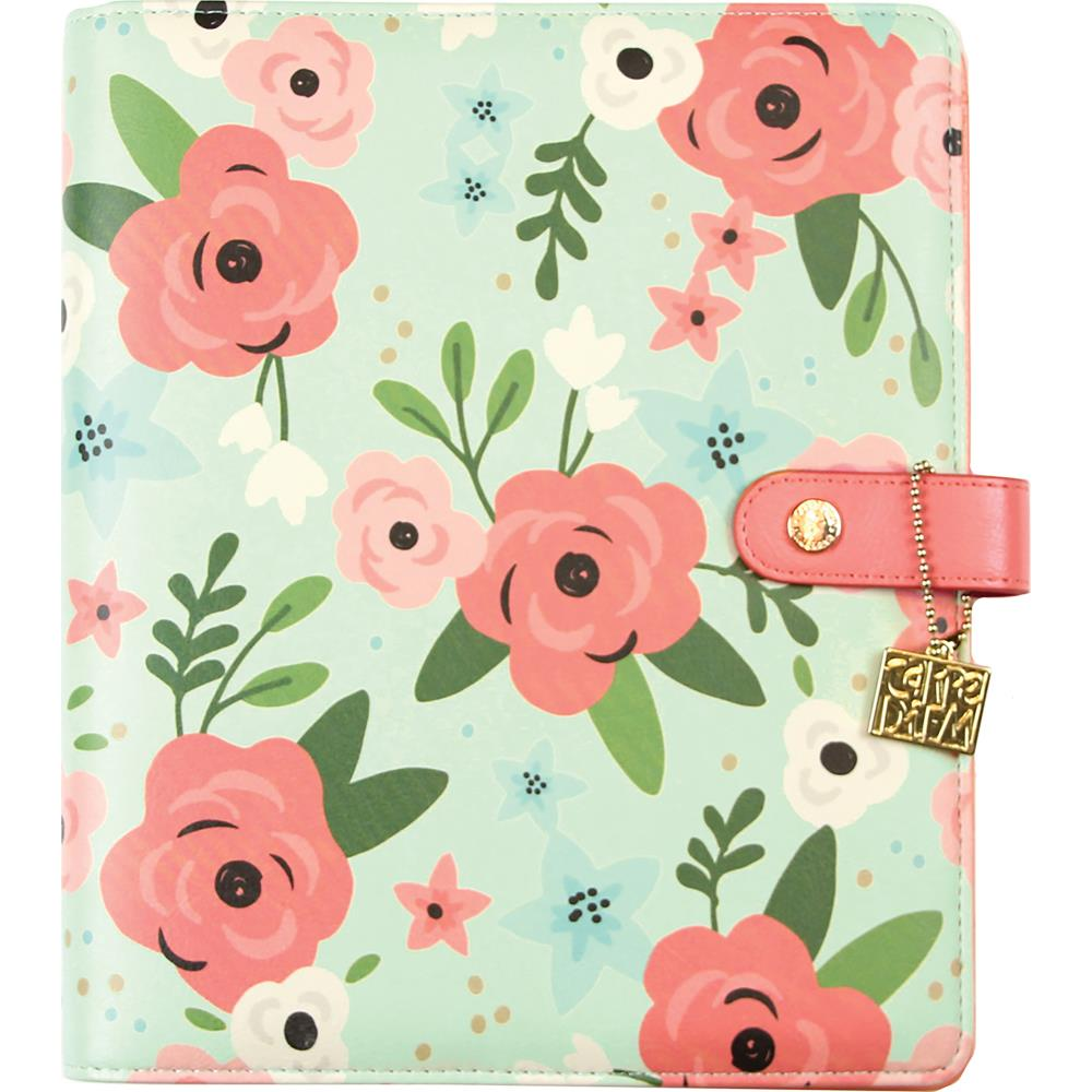 Carpe Diem A5 Planner- Mint Blossom