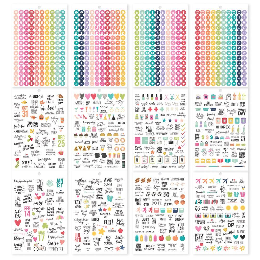 A5 Sticker Tablet- Calendar
