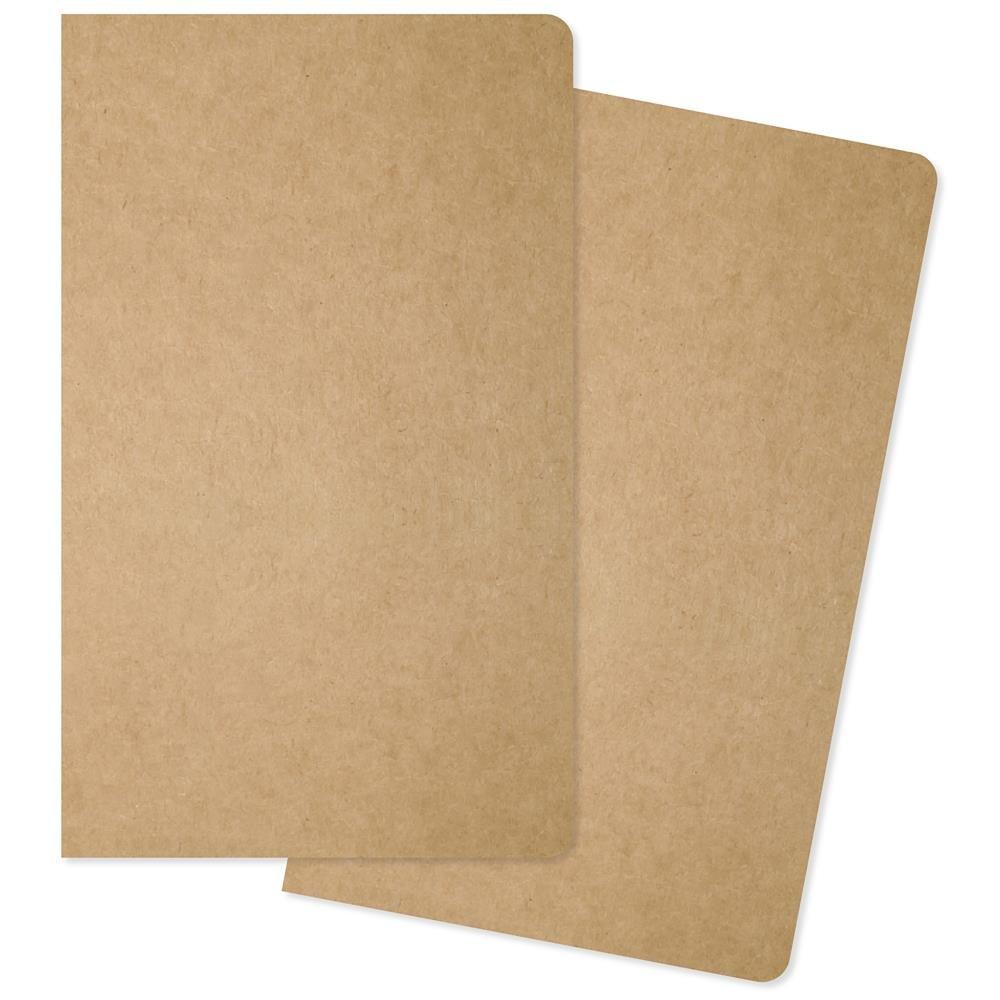 Carpe Diem Traveler's Notebook Inserts 5X8.25 2/Pkg- One Blank/One Grid