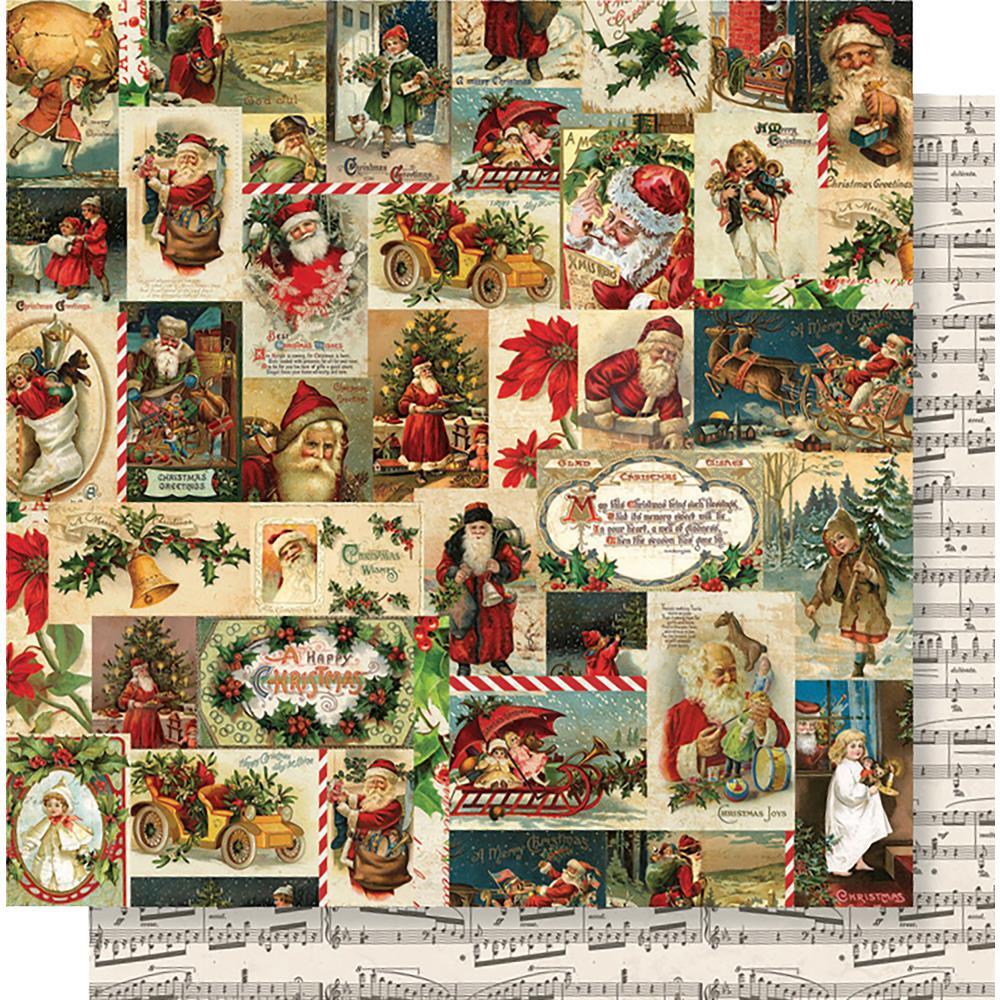Jolly Holidays- Simple Vintage Christmas