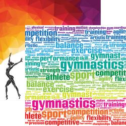 Competition- Gymnastics Double-Sided Cardstock 12X12