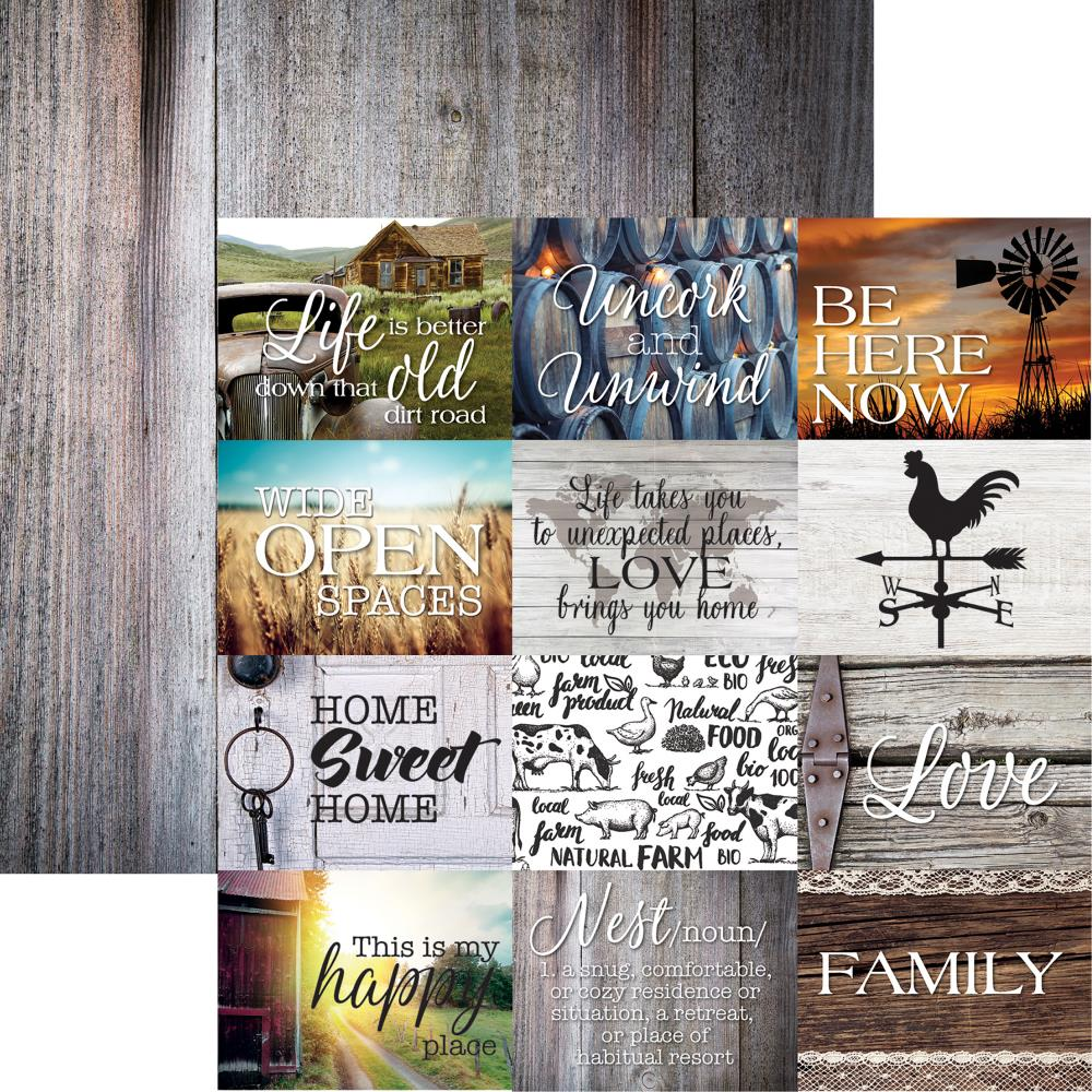 Country Life- Country Life Double-Sided Cardstock 12X12