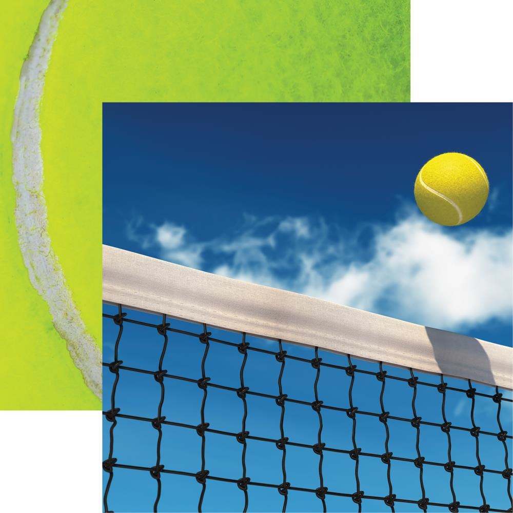 Ace - Tennis Double-Sided Cardstock 12X12