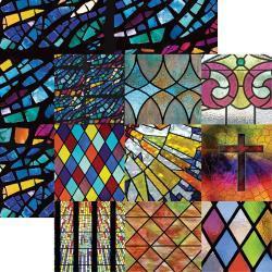 Faith- In Loving Memory Cardstock 12X12