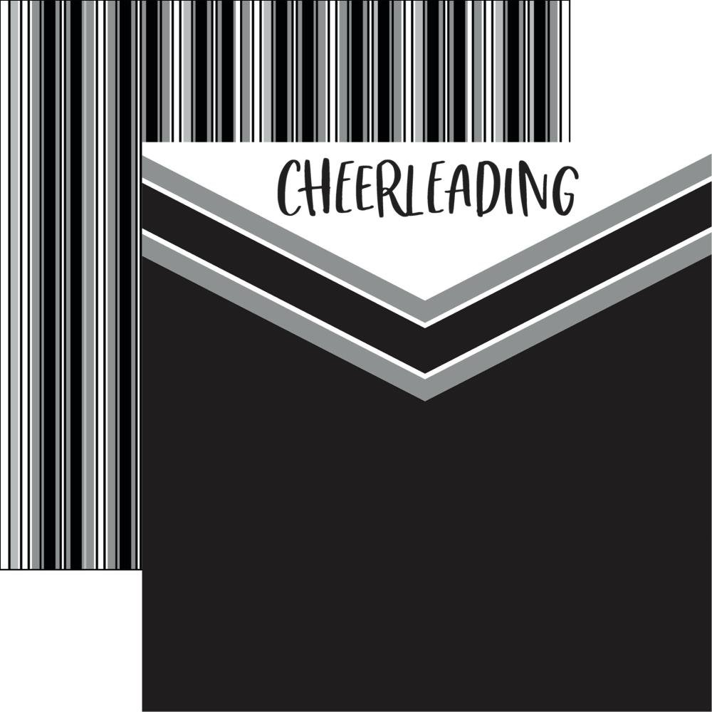 Game Day: Cheerleading Double-Sided Cardstock 12X12-Cheer