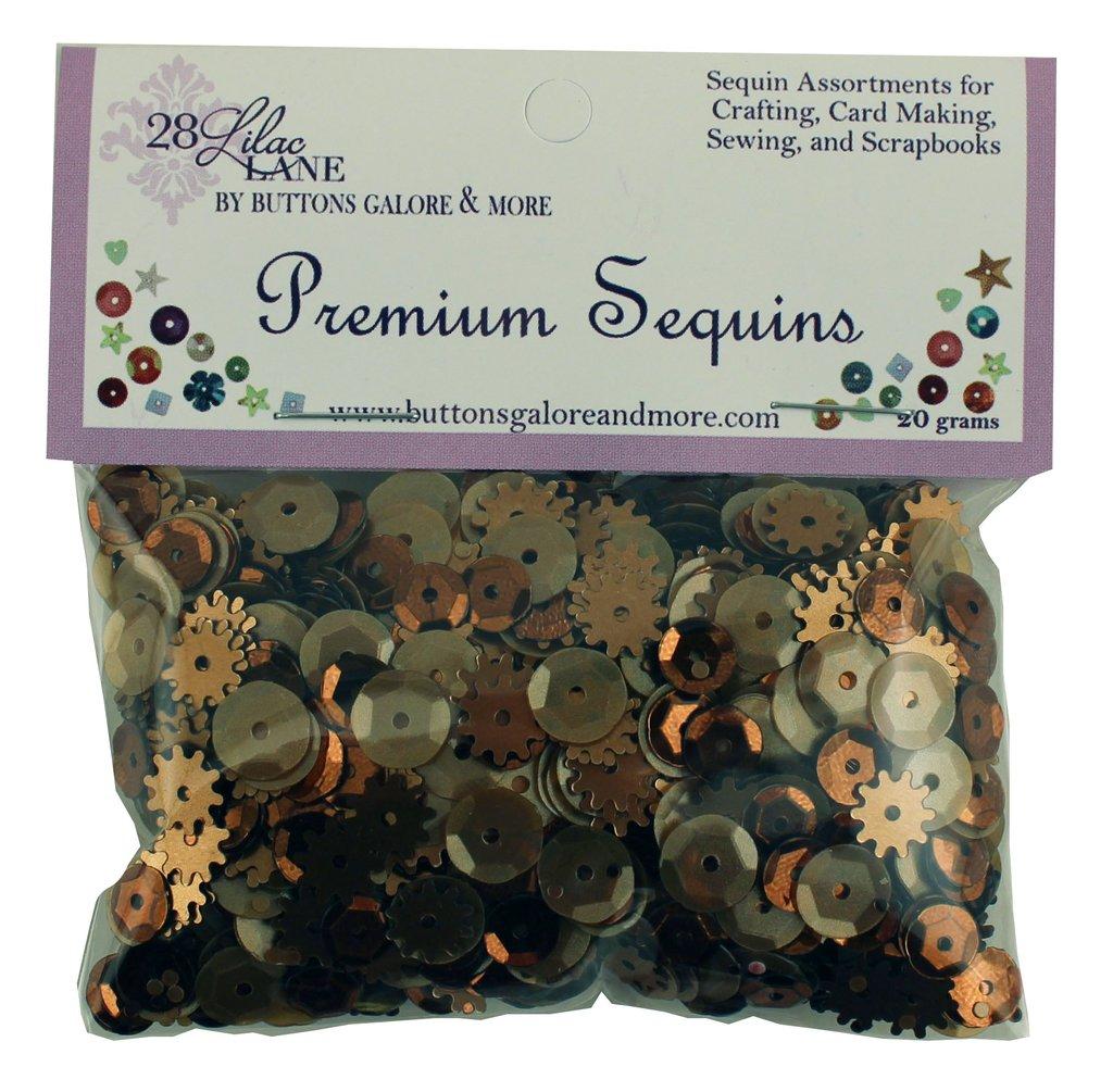 Premium Sequins 20g.- Rusty