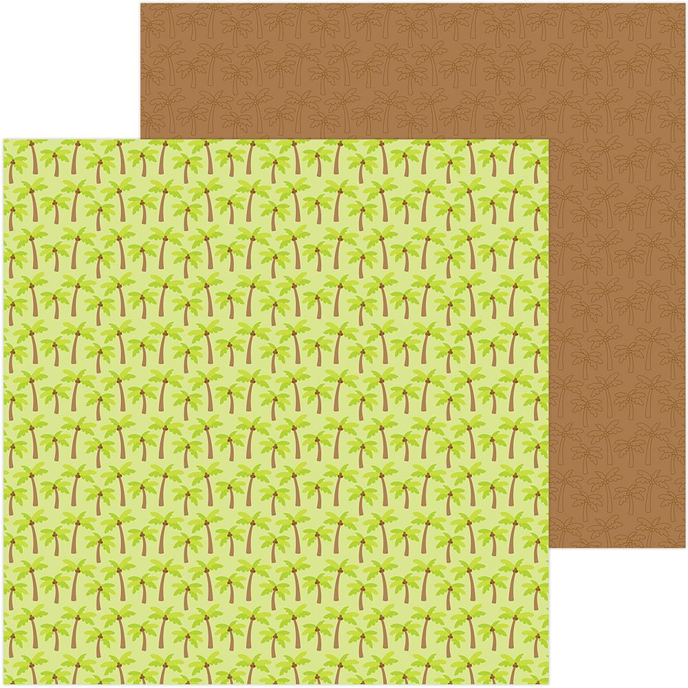 Sweet Summer Double-Sided Cardstock 12X12- Coconut Grove