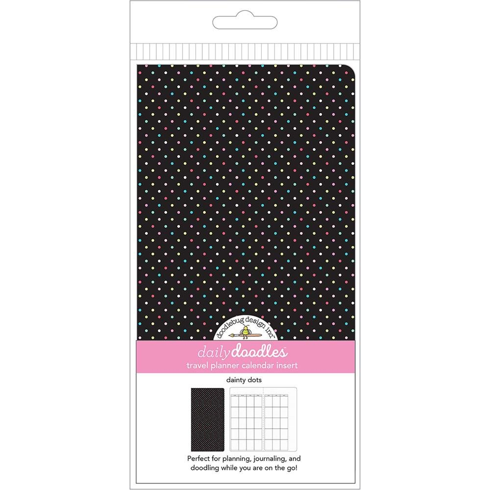 Doodlebug Planner Inserts- Dainty Dots Daily Doodles Calendar