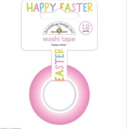 Doodlebug Washi Tape 15mmX12yd Happy Easter