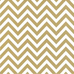 Canvas Corp Single-Sided Printed Cardstock 12X12 White & Kraft Chevron