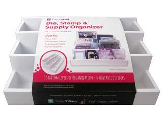 Totally Tiffany Organizers Desk Maid Die, Stamp & Supply Organizer
