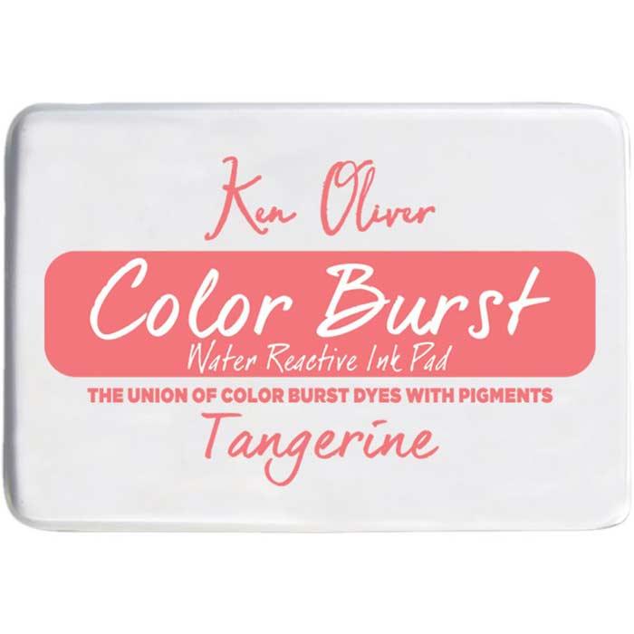 Ken Oliver Color Burst Ink Pad- Tangerine