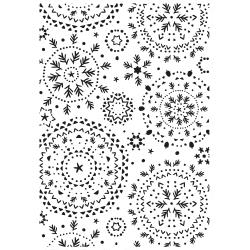 Snowflakes- Kaisercraft Embossing Folder 4X6