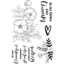 Blessed Clear Stamps 6X4