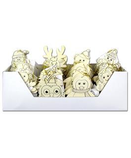 Wood Ornament- Assorted