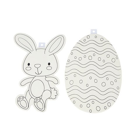Wood Shape- Bunny or Egg