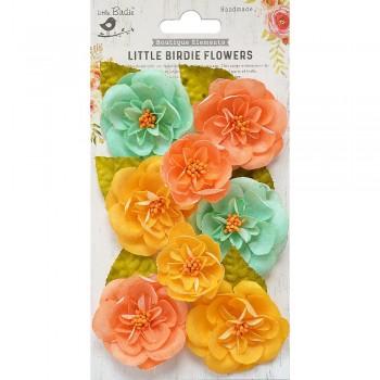 Ardice Pastel Palette Flowers Flowers 8pc- Little Birdie